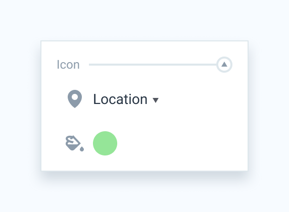 Icon section